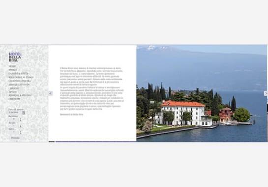 Progetto realizzato per HOTEL BELLA RIVA da Ermes Digital, Sudio grafico, web e seo Milano