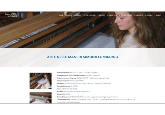 Progetto realizzato per Terre dei Navigli da Ermes Digital, Sudio grafico, web e seo Milano