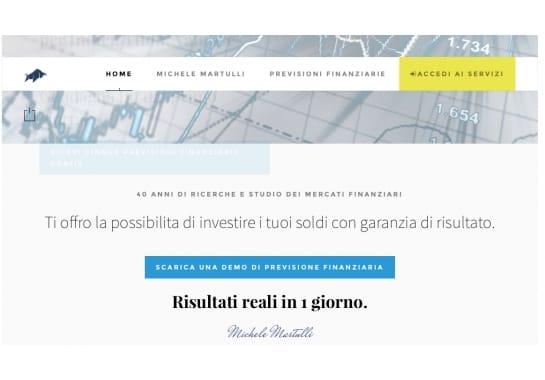 Progetto realizzato per Finance Live da Ermes Digital, Sudio grafico, web e seo Milano