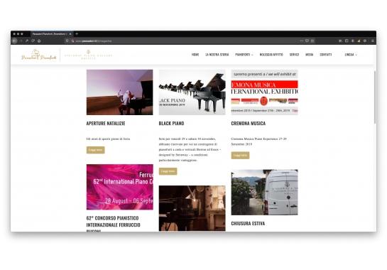 Progetto realizzato per Passadori F.lli da Ermes Digital, Sudio grafico, web e seo Milano