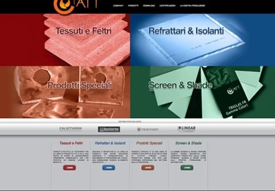 Progetto realizzato per ATT da Ermes Digital, Sudio grafico, web e seo Milano