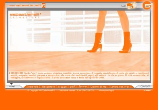 Progetto realizzato per SEBASTIANELLI da Ermes Digital, Sudio grafico, web e seo Milano
