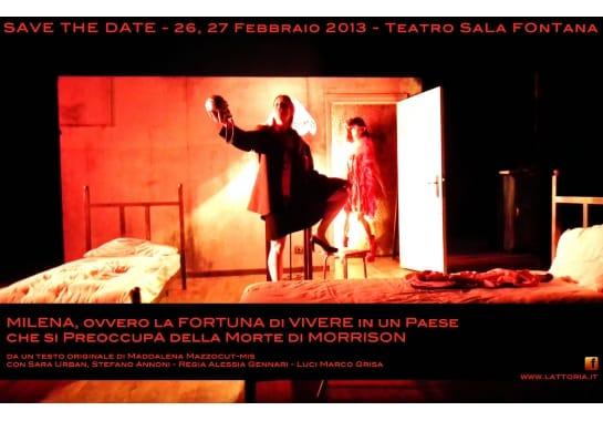 Progetto realizzato per LATTORIA - Progetto Teatrale da Ermes Digital, Sudio grafico, web e seo Milano