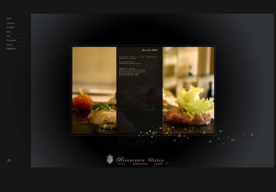 Progetto realizzato per RISTORANTE ORTICA da Ermes Digital, Sudio grafico, web e seo Milano