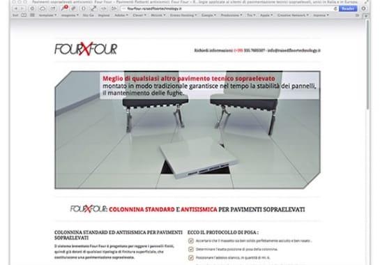 Progetto realizzato per RAISED FLOOR TECHNOLOGY da Ermes Digital, Sudio grafico, web e seo Milano