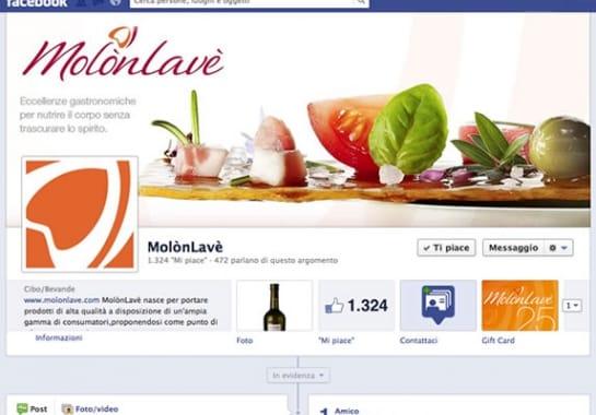 Progetto realizzato per MOLON LAVE da Ermes Digital, Sudio grafico, web e seo Milano