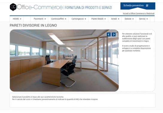 Progetto realizzato per Fenice Arredi Ufficio da Ermes Digital, Sudio grafico, web e seo Milano