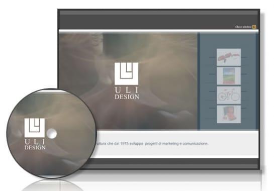 Progetto realizzato per ULI DESIGN da Ermes Digital, Sudio grafico, web e seo Milano