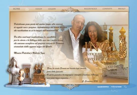 Progetto realizzato per INGA SIRMIONE da Ermes Digital, Sudio grafico, web e seo Milano
