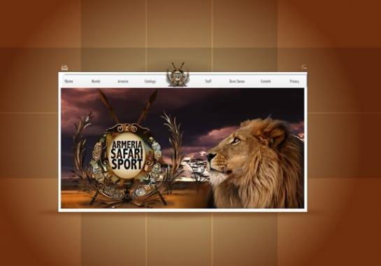 Progetto realizzato per SAFARI SPORT da Ermes Digital, Sudio grafico, web e seo Milano