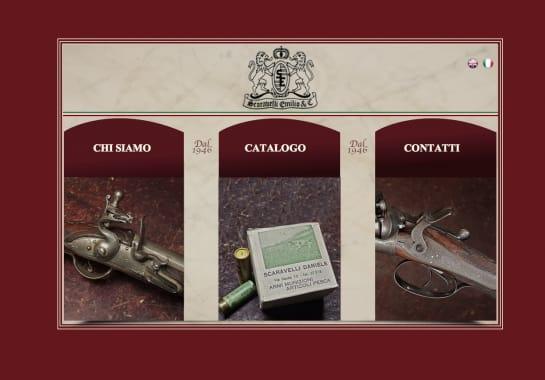 Progetto realizzato per SCARAVELLI EMILIO da Ermes Digital, Sudio grafico, web e seo Milano