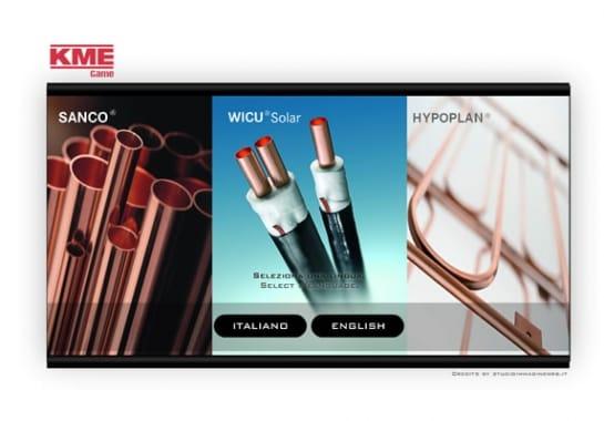 Progetto realizzato per KME da Ermes Digital, Sudio grafico, web e seo Milano